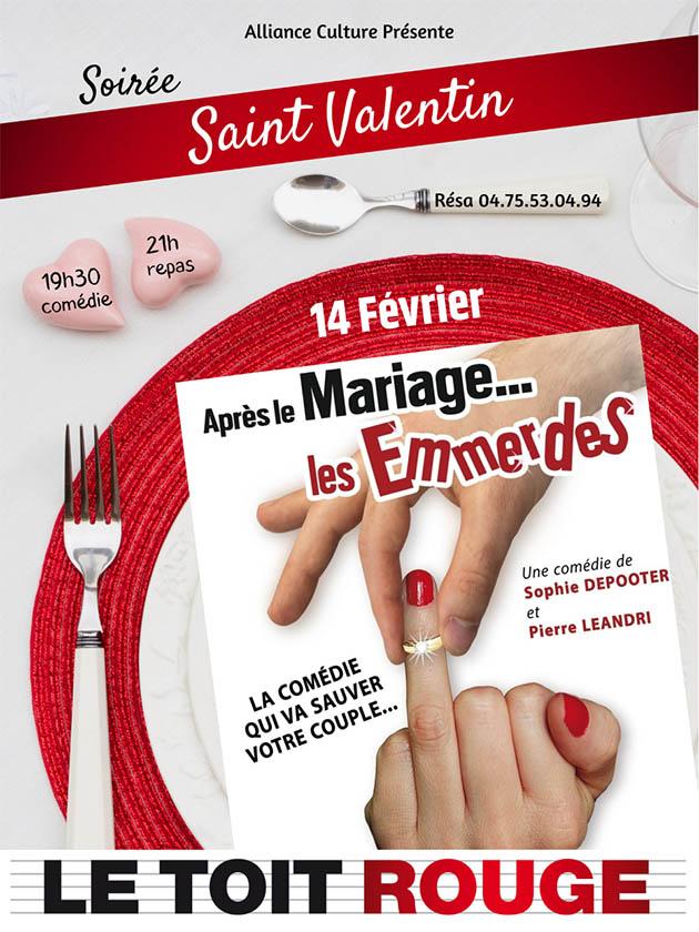 Soirée St Valentin Montélimar 2020