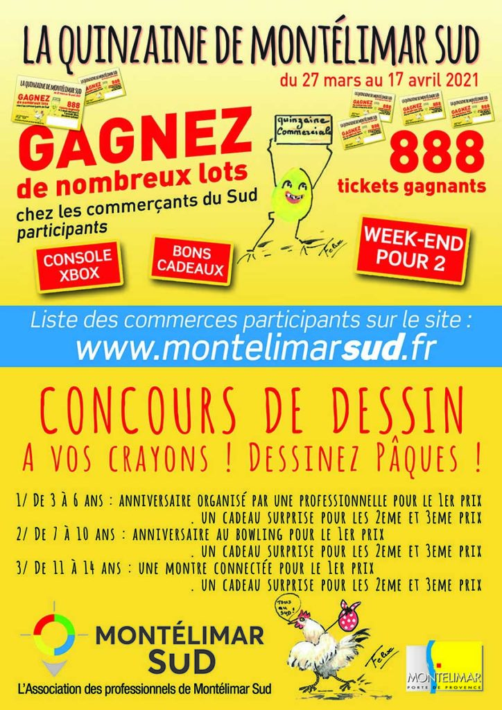 Quinzaine commerciale 2021 Montélimar Sud