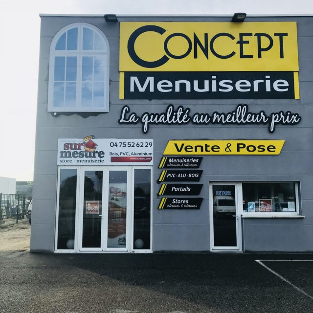 Concept Menuiserie